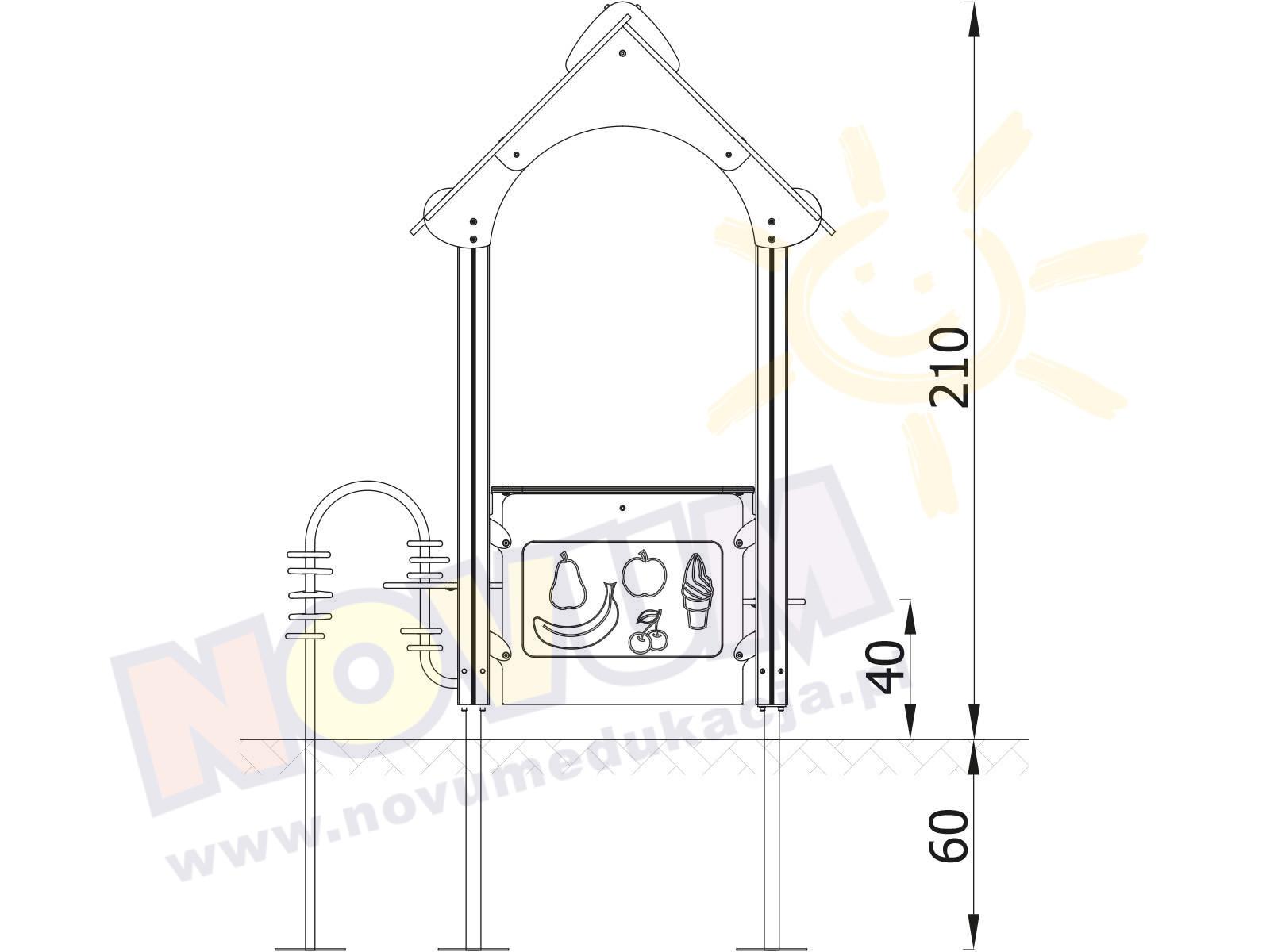 Mini domek
