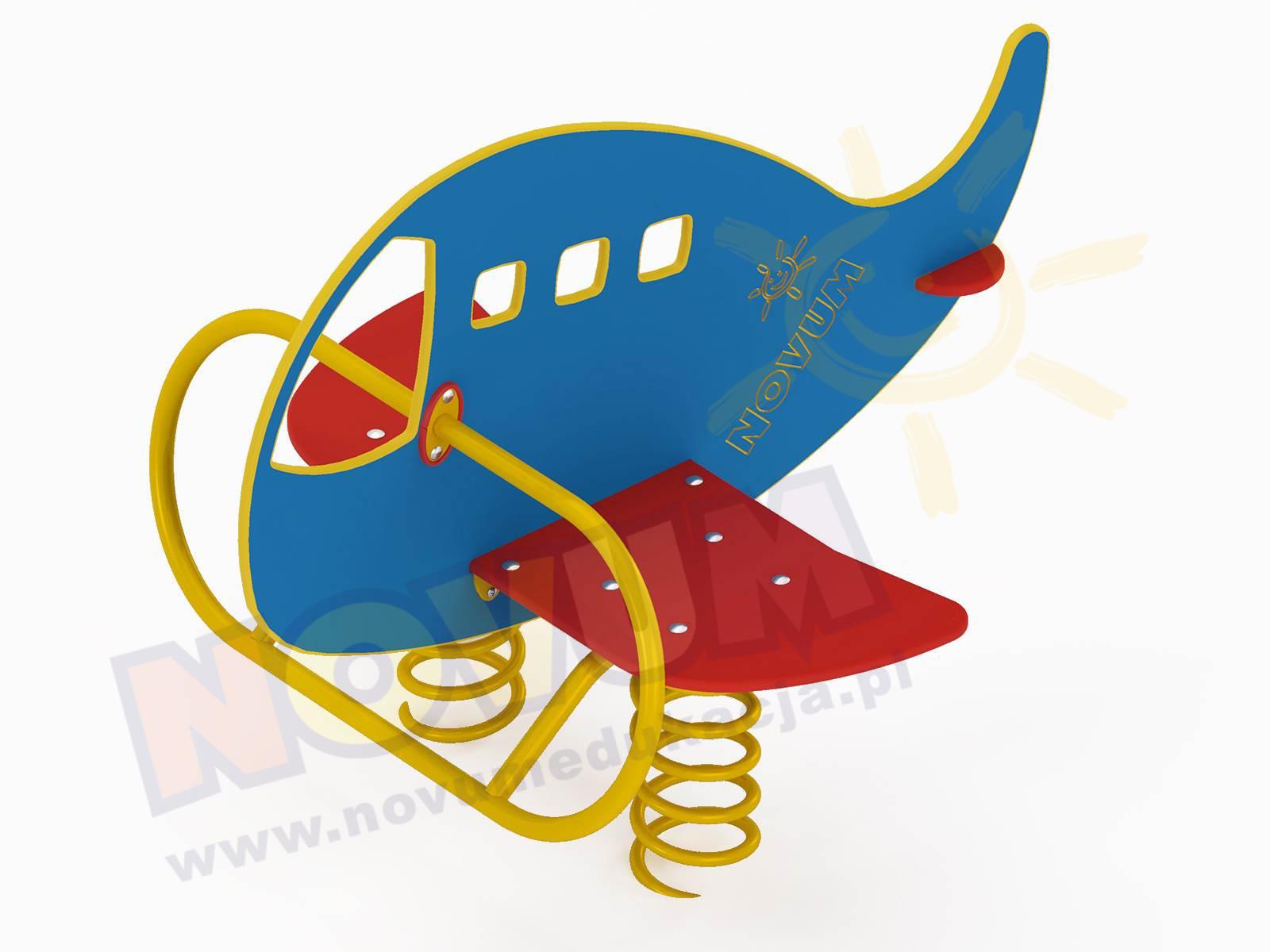 Samolot na sprężynach