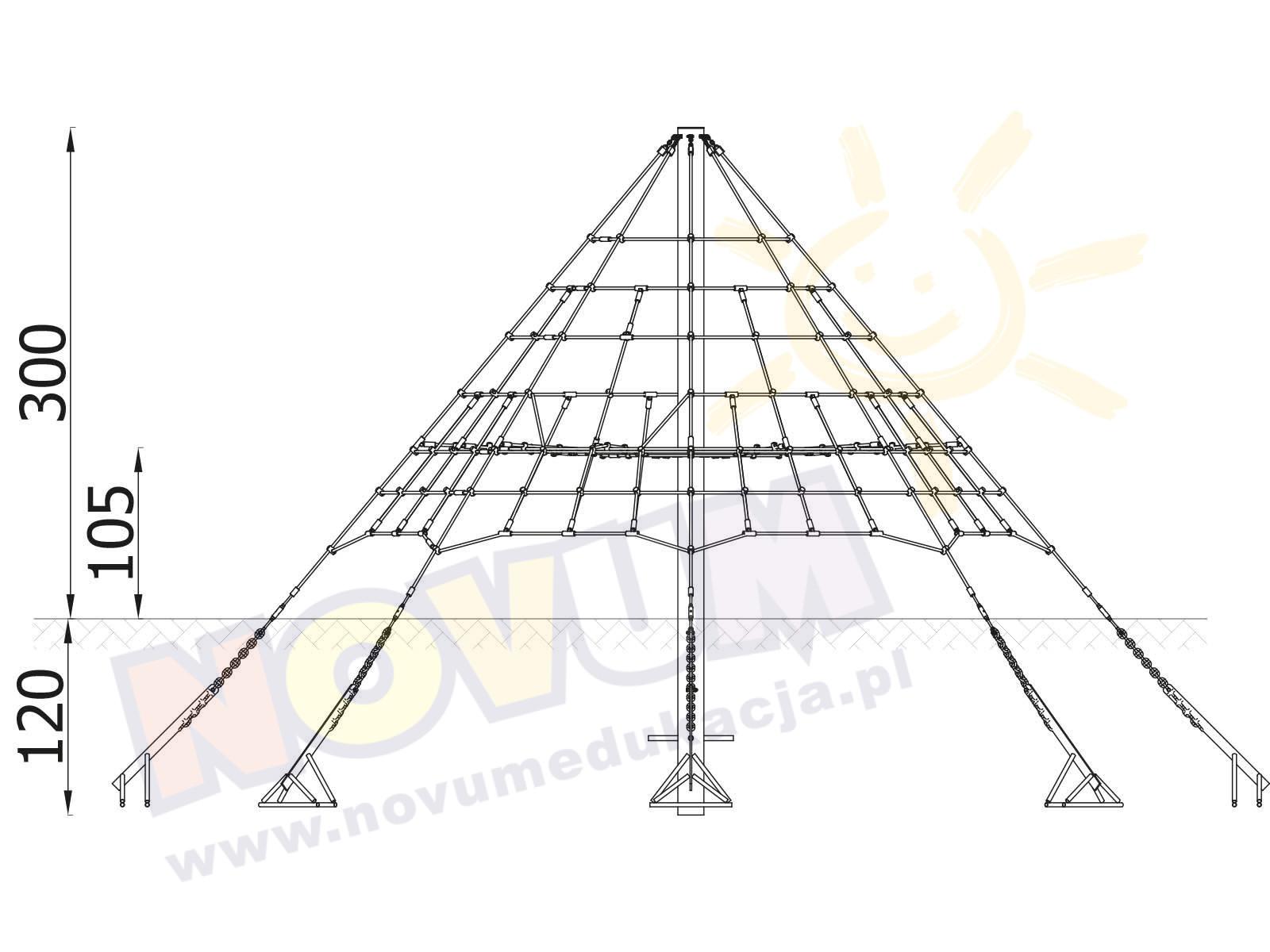 Linarium Piramida Pajęcza