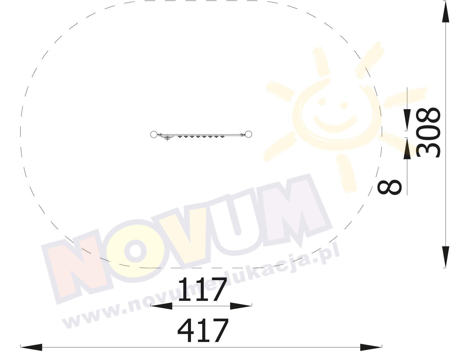Tablica dzwonków diatonicznych M