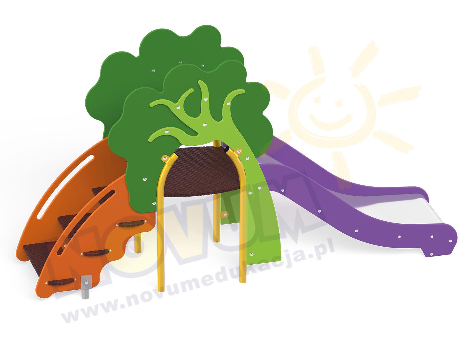Zjeżdżalnia Drzewko