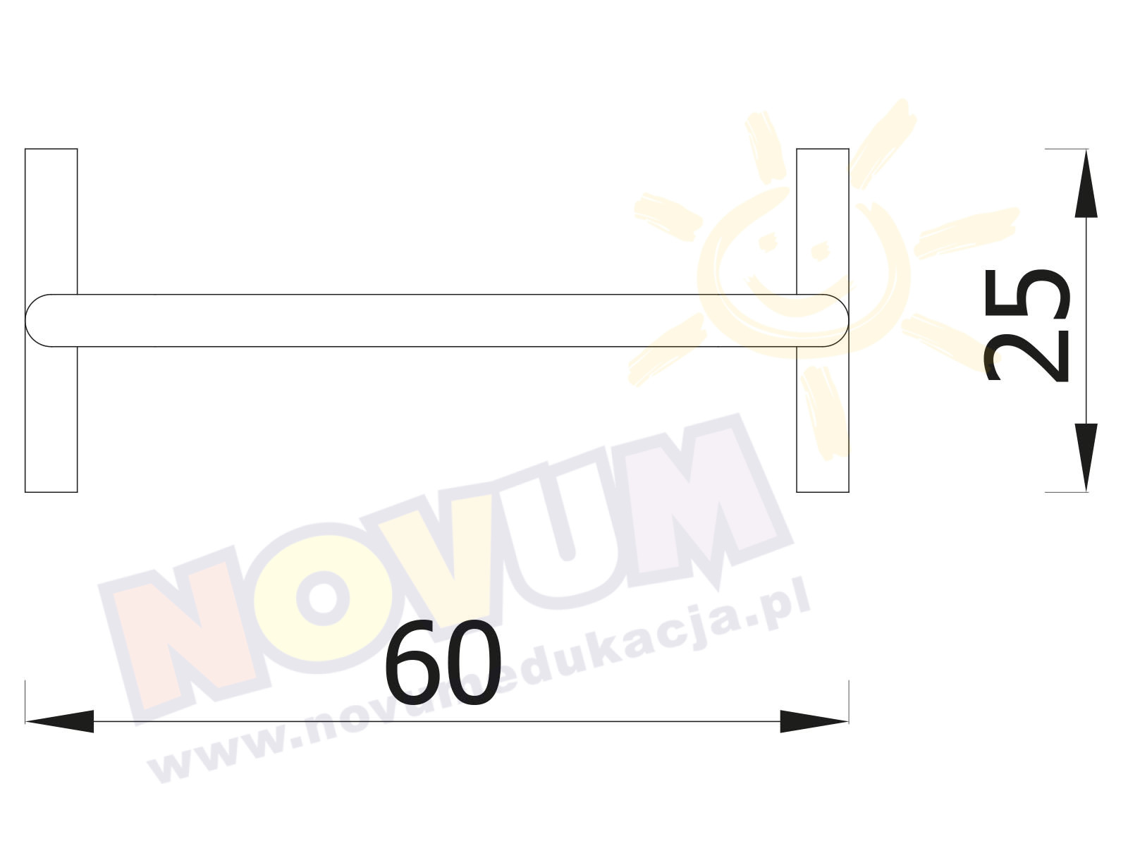 Mini Poręcze 2 sztuki